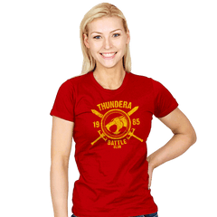 Thundera Battle Club - Womens - T-Shirts - RIPT Apparel