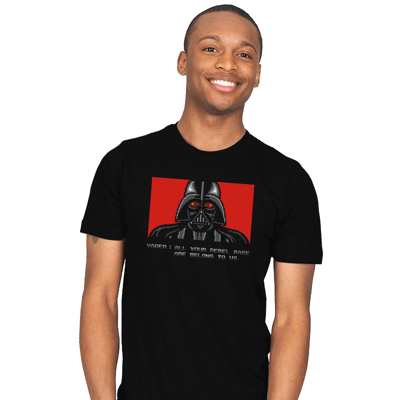 All your rebel base are belong to us. - Mens - T-Shirts - RIPT Apparel