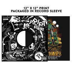 Sarlacc of Darkness - Album Cover Prints - Posters - RIPT Apparel