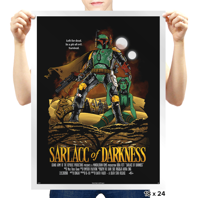 Sarlacc of Darkness - Prints - Posters - RIPT Apparel