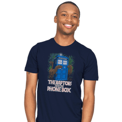 The Raptors Have the Phone Box - Mens - T-Shirts - RIPT Apparel