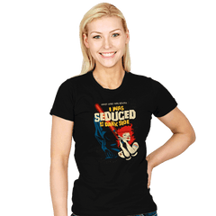 Seduced by the Dark Side - Womens - T-Shirts - RIPT Apparel