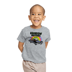 Rainbow Motors - Youth - T-Shirts - RIPT Apparel