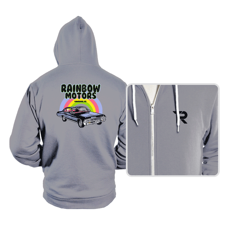 Rainbow Motors - Hoodies - Hoodies - RIPT Apparel