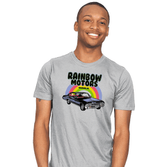 Rainbow Motors - Mens - T-Shirts - RIPT Apparel