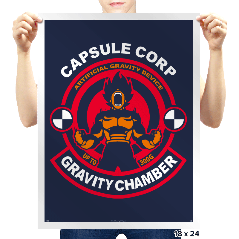 Gravity Workout - Prints - Posters - RIPT Apparel