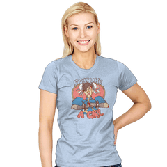 Fight Like A Girl - Womens - T-Shirts - RIPT Apparel