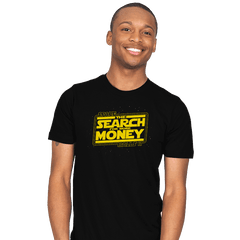 The Search for More Money - Mens - T-Shirts - RIPT Apparel