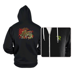 Adolescent Abnormal Shinobi Reptiles - Hoodies - Hoodies - RIPT Apparel