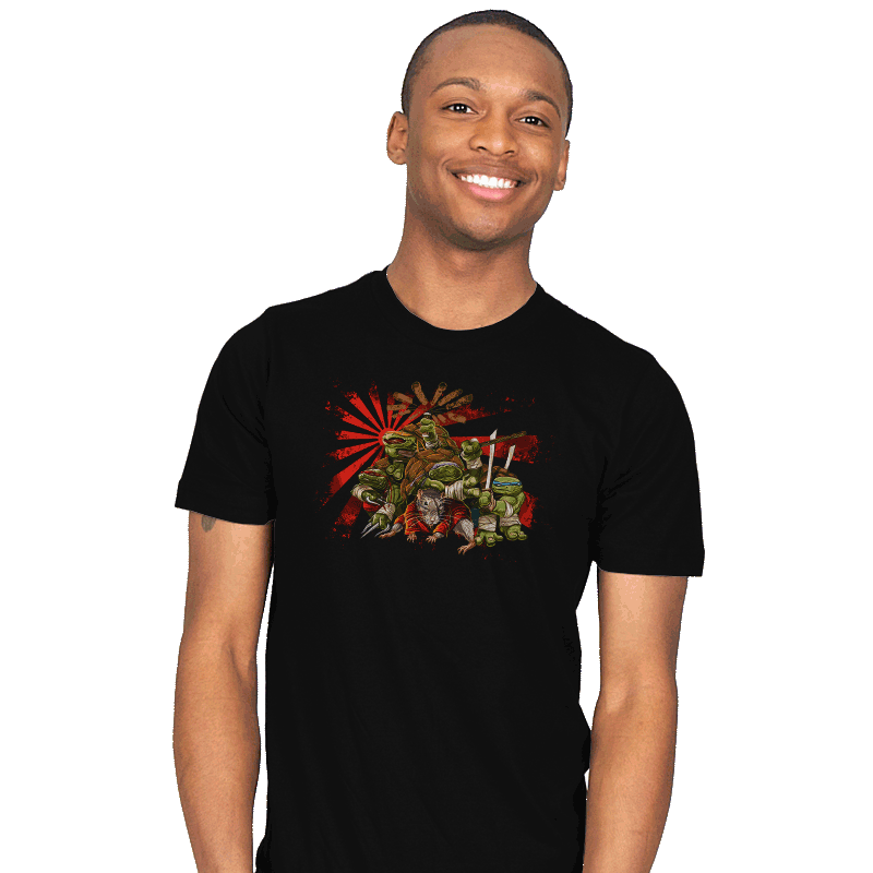 Adolescent Abnormal Shinobi Reptiles - Mens - T-Shirts - RIPT Apparel