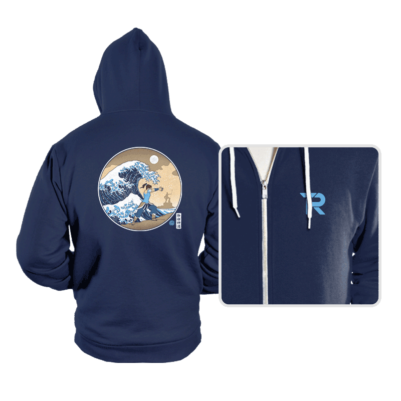 The Great Wave of Republic City - Hoodies - Hoodies - RIPT Apparel