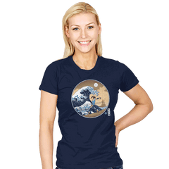 The Great Wave of Republic City - Womens - T-Shirts - RIPT Apparel