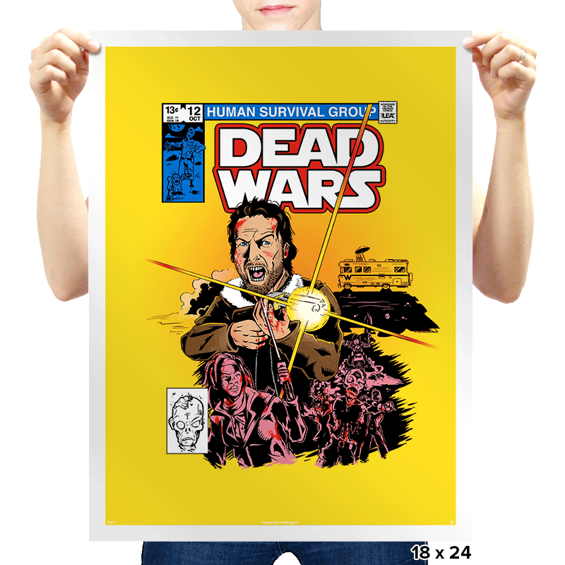 Dead Wars Exclusive - Prints - Posters - RIPT Apparel