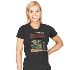 Springfield Comics Exclusive - Womens - T-Shirts - RIPT Apparel