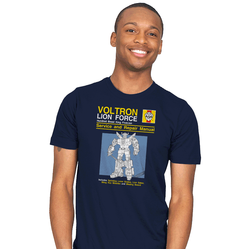Lion Force Service and Repair Manual - Mens - T-Shirts - RIPT Apparel