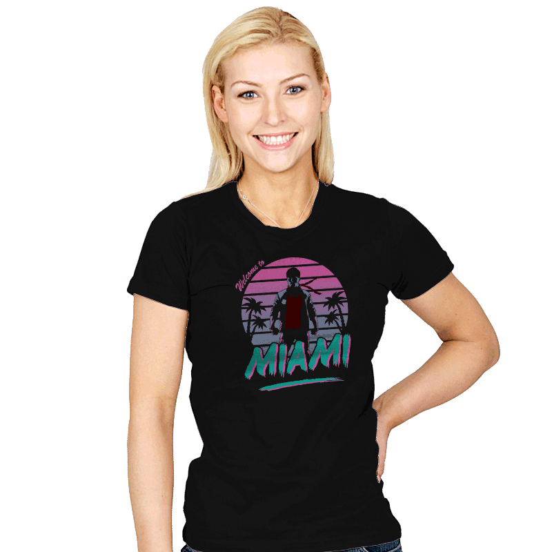 City of Fury - Womens - T-Shirts - RIPT Apparel
