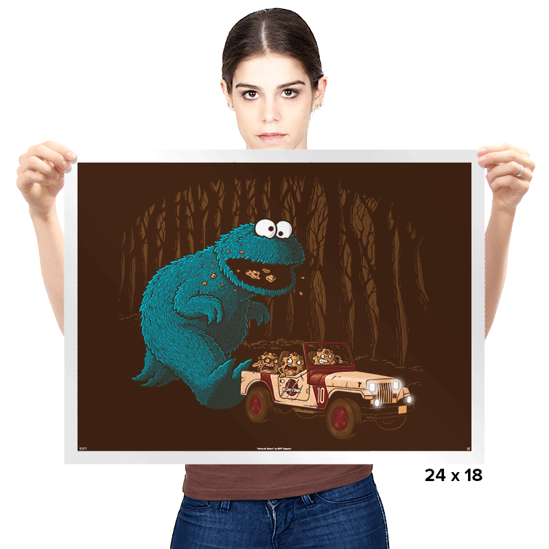 Monster Park - Prints - Posters - RIPT Apparel