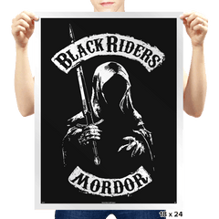 Mordor Black Riders - Prints - Posters - RIPT Apparel
