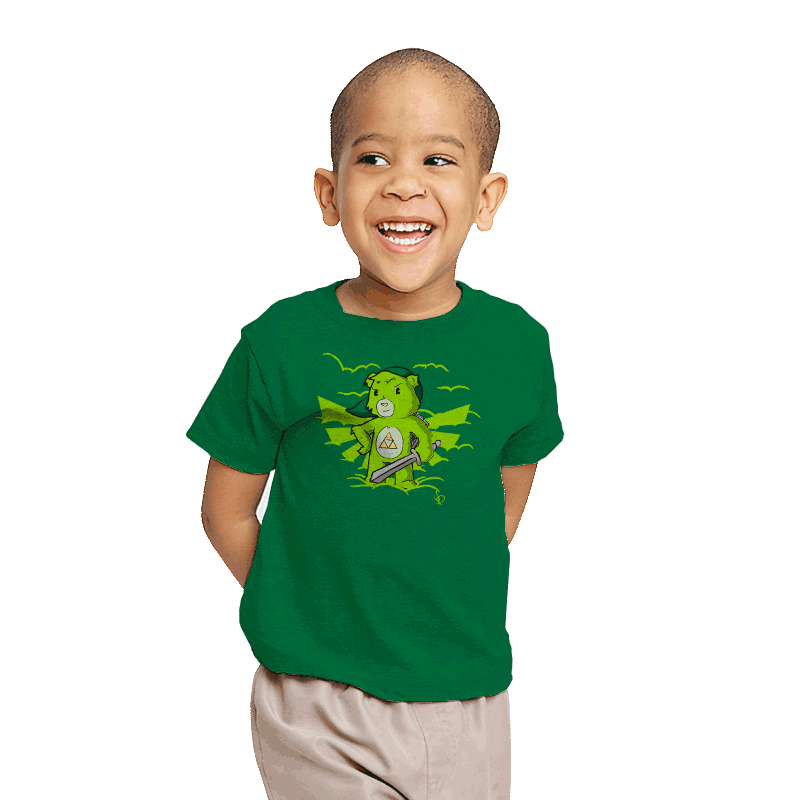Link Bear - Youth - T-Shirts - RIPT Apparel