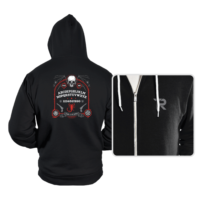 Death is Not Serene  - Hoodies - Hoodies - RIPT Apparel