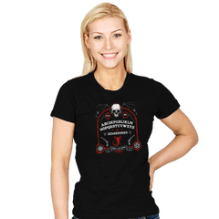 Death is Not Serene  - Womens - T-Shirts - RIPT Apparel