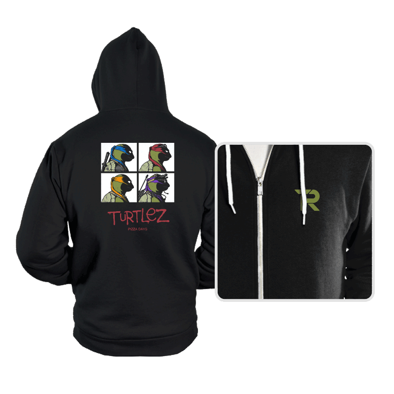 Turtlez - Hoodies - Hoodies - RIPT Apparel
