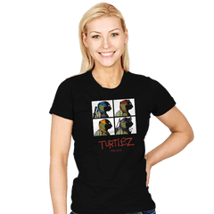 Turtlez - Womens - T-Shirts - RIPT Apparel