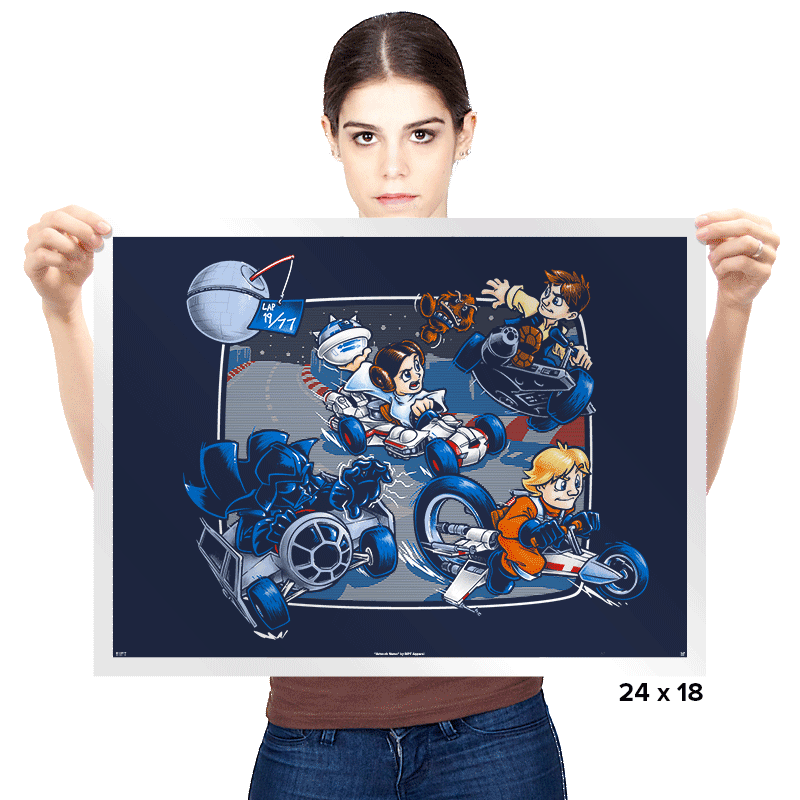 Super Star Kart - Prints - Posters - RIPT Apparel