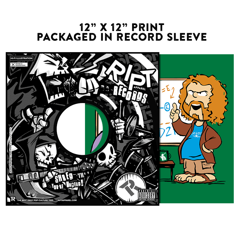 Pied Piper's Peanuts - Album Cover Prints - Posters - RIPT Apparel