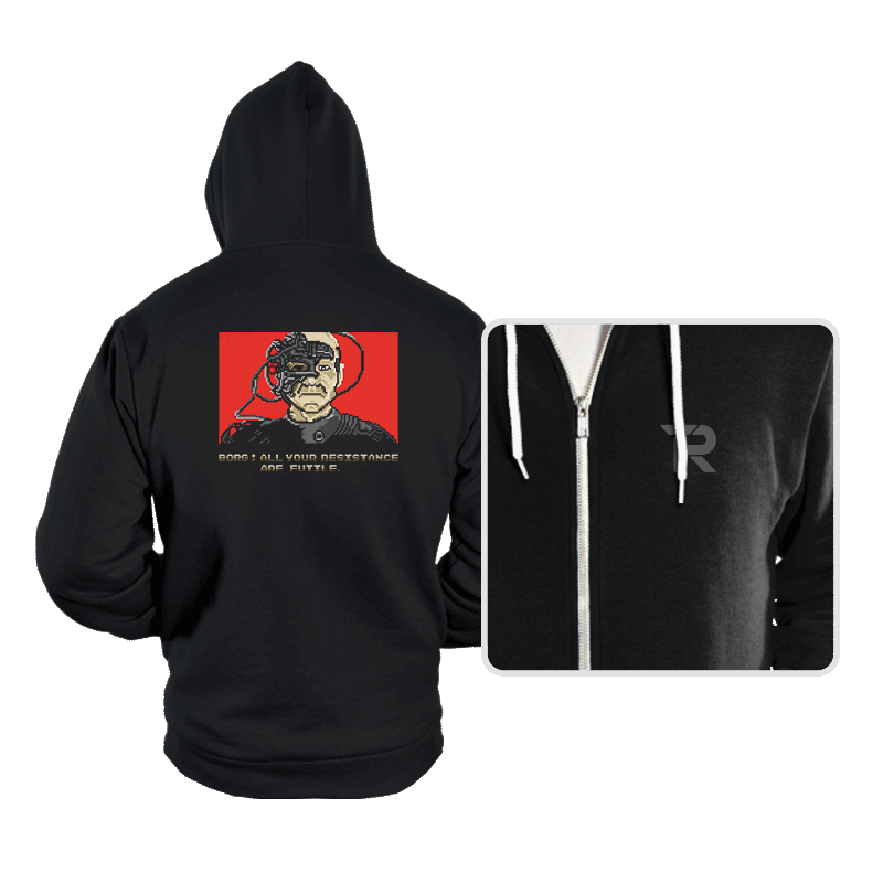 Resistance Are Futile - Hoodies - Hoodies - RIPT Apparel