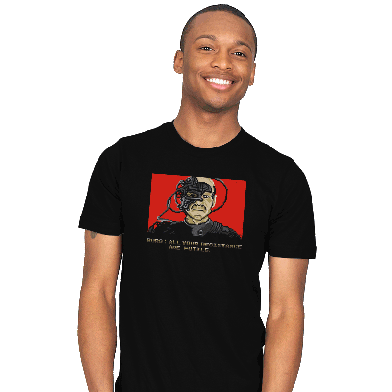 Resistance Are Futile - Mens - T-Shirts - RIPT Apparel