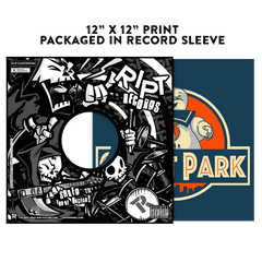 Ghost Park - Album Cover Prints - Posters - RIPT Apparel