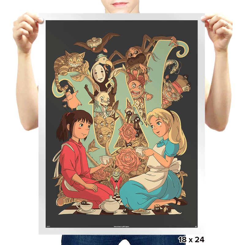Wonderlands - Prints - Posters - RIPT Apparel