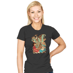 Wonderlands - Womens - T-Shirts - RIPT Apparel
