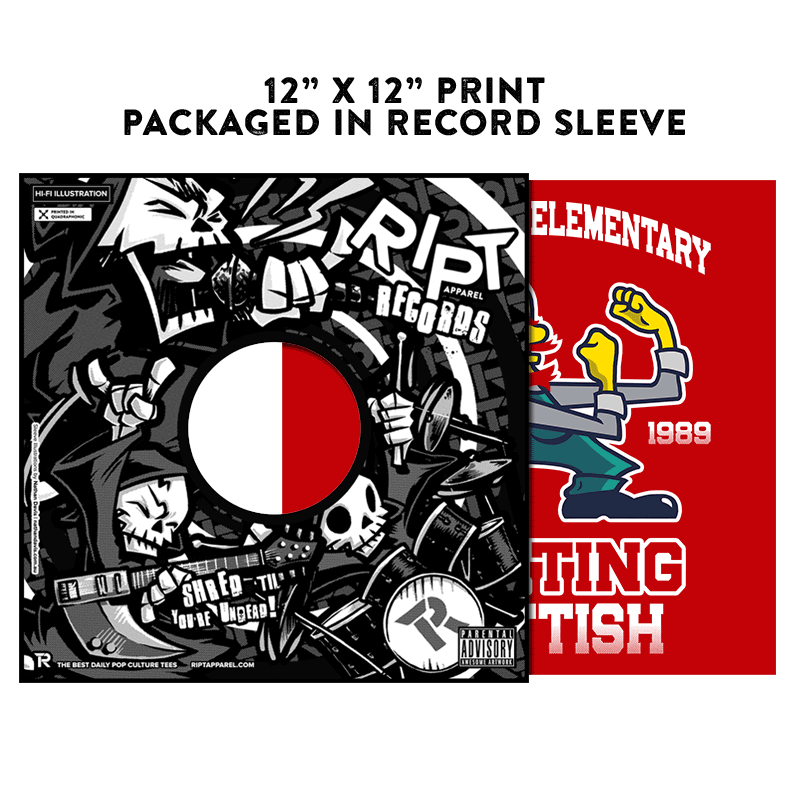 Fighting Scottish - Album Cover Prints - Posters - RIPT Apparel