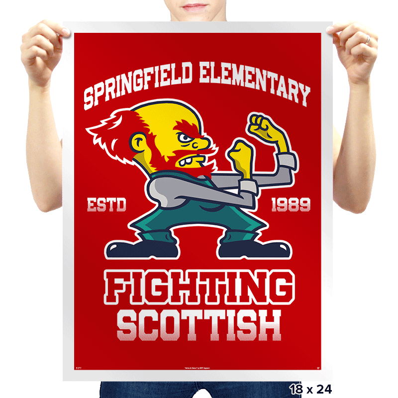 Fighting Scottish - Prints - Posters - RIPT Apparel