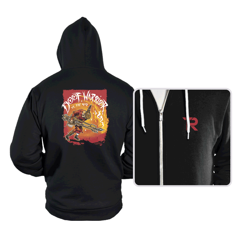 Doof Warrior vs The Mad - Hoodies - Hoodies - RIPT Apparel