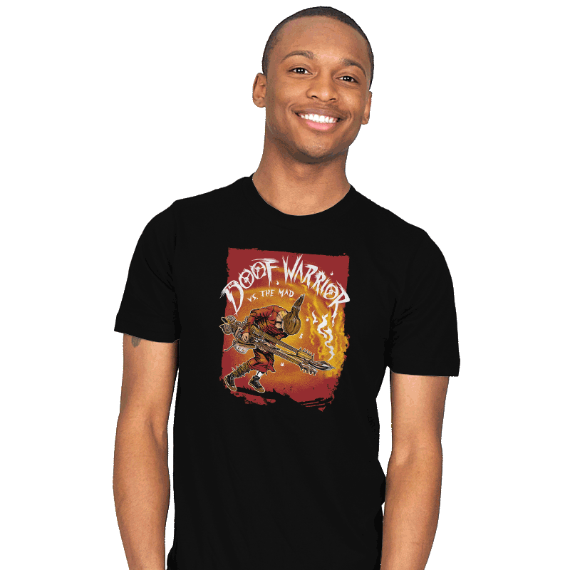 Doof Warrior vs The Mad - Mens - T-Shirts - RIPT Apparel