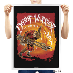 Doof Warrior vs The Mad - Prints - Posters - RIPT Apparel