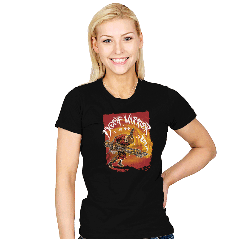 Doof Warrior vs The Mad - Womens - T-Shirts - RIPT Apparel