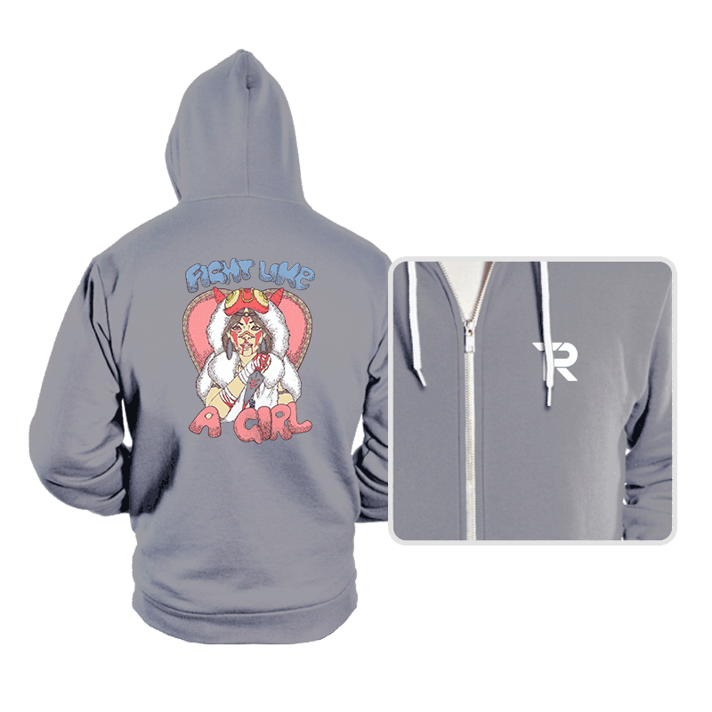 Fight Like A Princess - Hoodies - Hoodies - RIPT Apparel