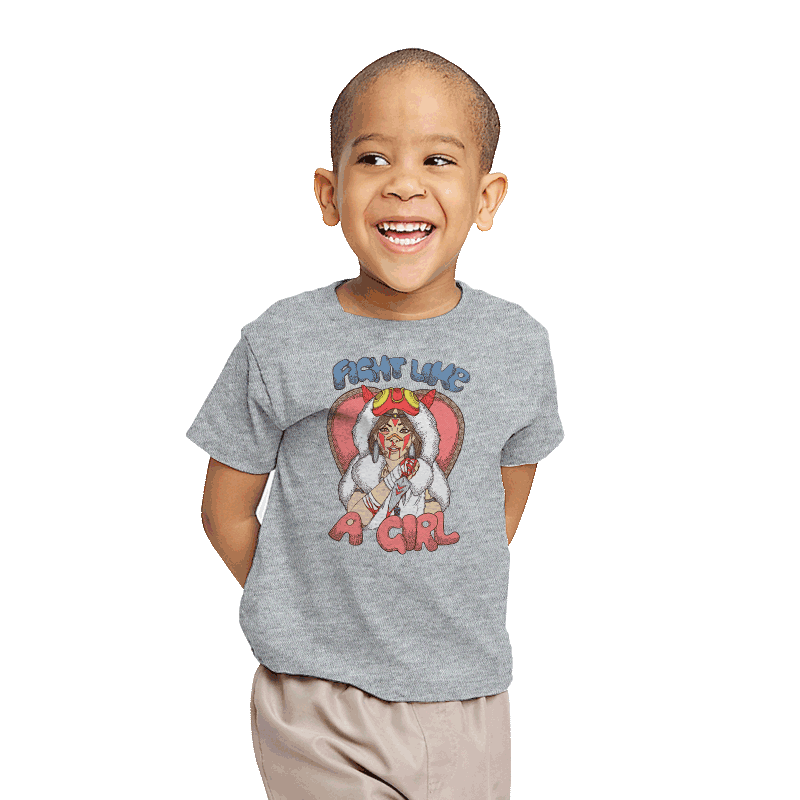Fight Like A Princess - Youth - T-Shirts - RIPT Apparel