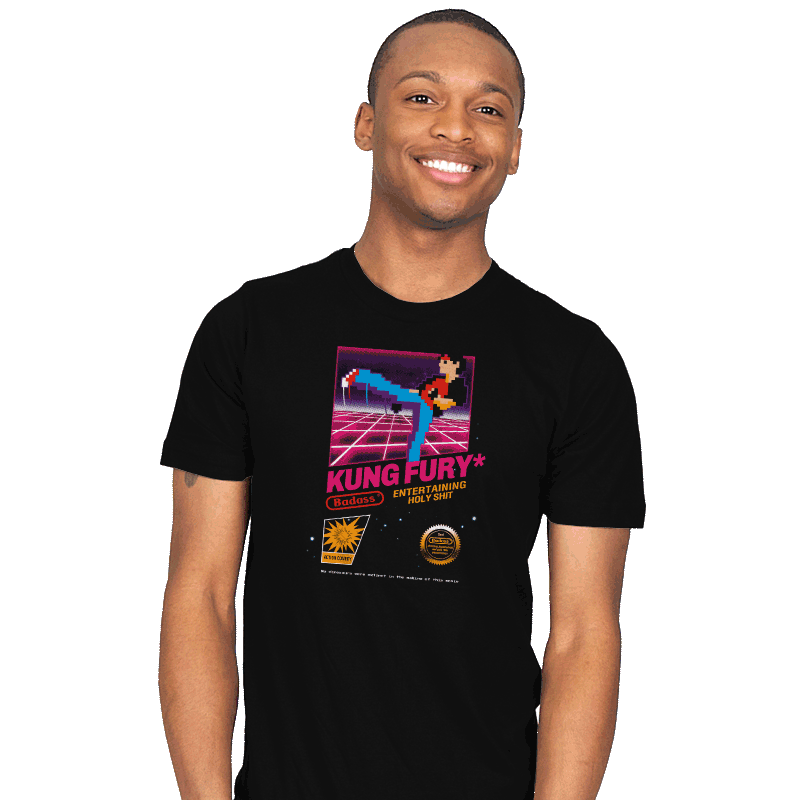 Kung Fu Retro Game - Mens - T-Shirts - RIPT Apparel