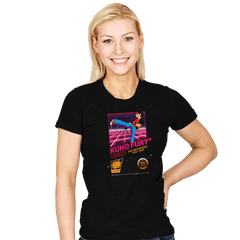 Kung Fu Retro Game - Womens - T-Shirts - RIPT Apparel