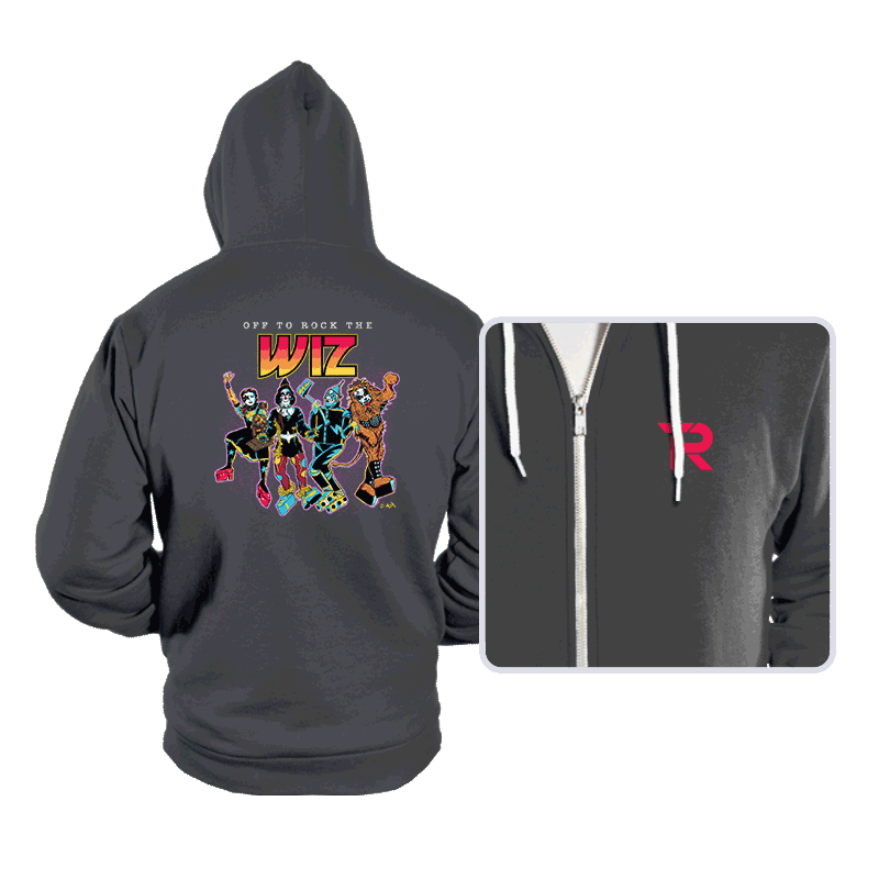 Off To Rock the Wiz - Hoodies - Hoodies - RIPT Apparel