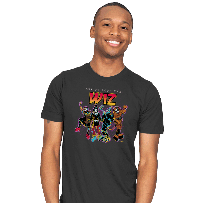 Off To Rock the Wiz - Mens - T-Shirts - RIPT Apparel