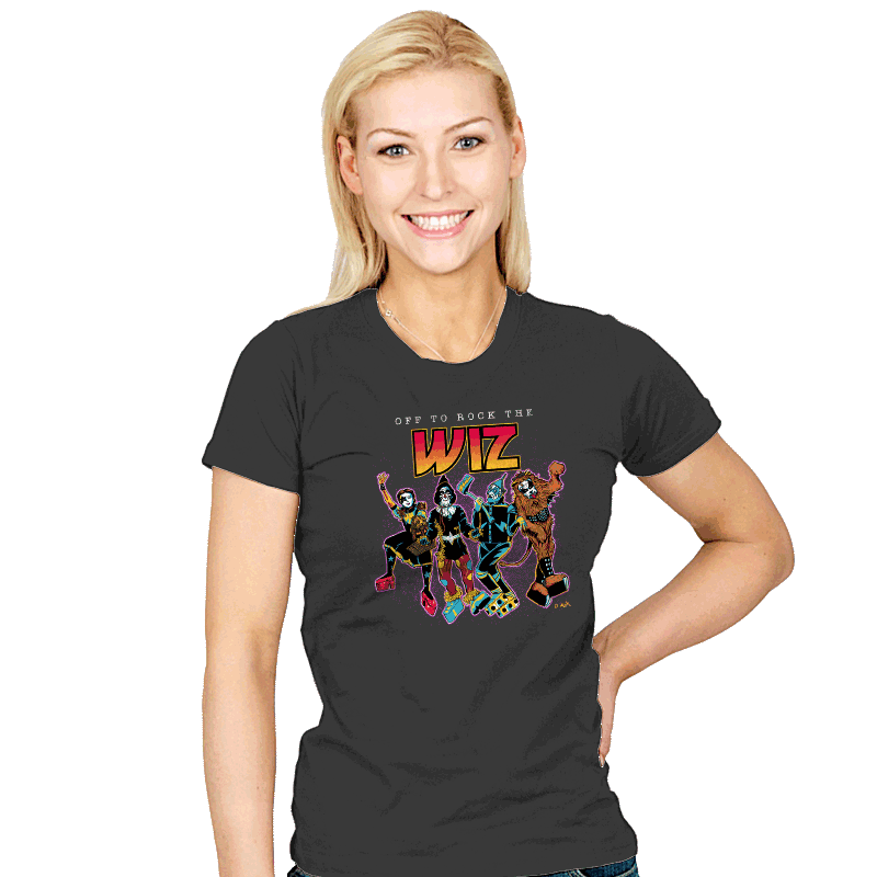 Off To Rock the Wiz - Womens - T-Shirts - RIPT Apparel