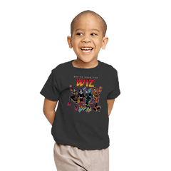 Off To Rock the Wiz - Youth - T-Shirts - RIPT Apparel
