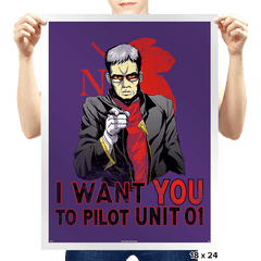 Get In The ... Robot!  - Prints - Posters - RIPT Apparel