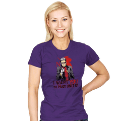 Get In The ... Robot!  - Womens - T-Shirts - RIPT Apparel